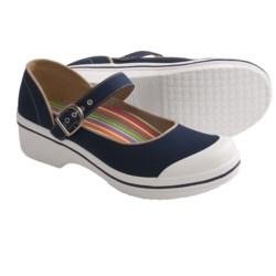 Dansko Valerie Mary Jane Shoes (For Women) in True Navy