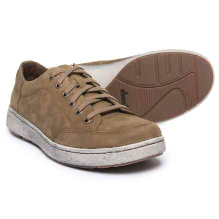 Dansko Vaughn Casual Sneakers - Nubuck (For Men) in Khaki Milled Nubuck - Closeouts