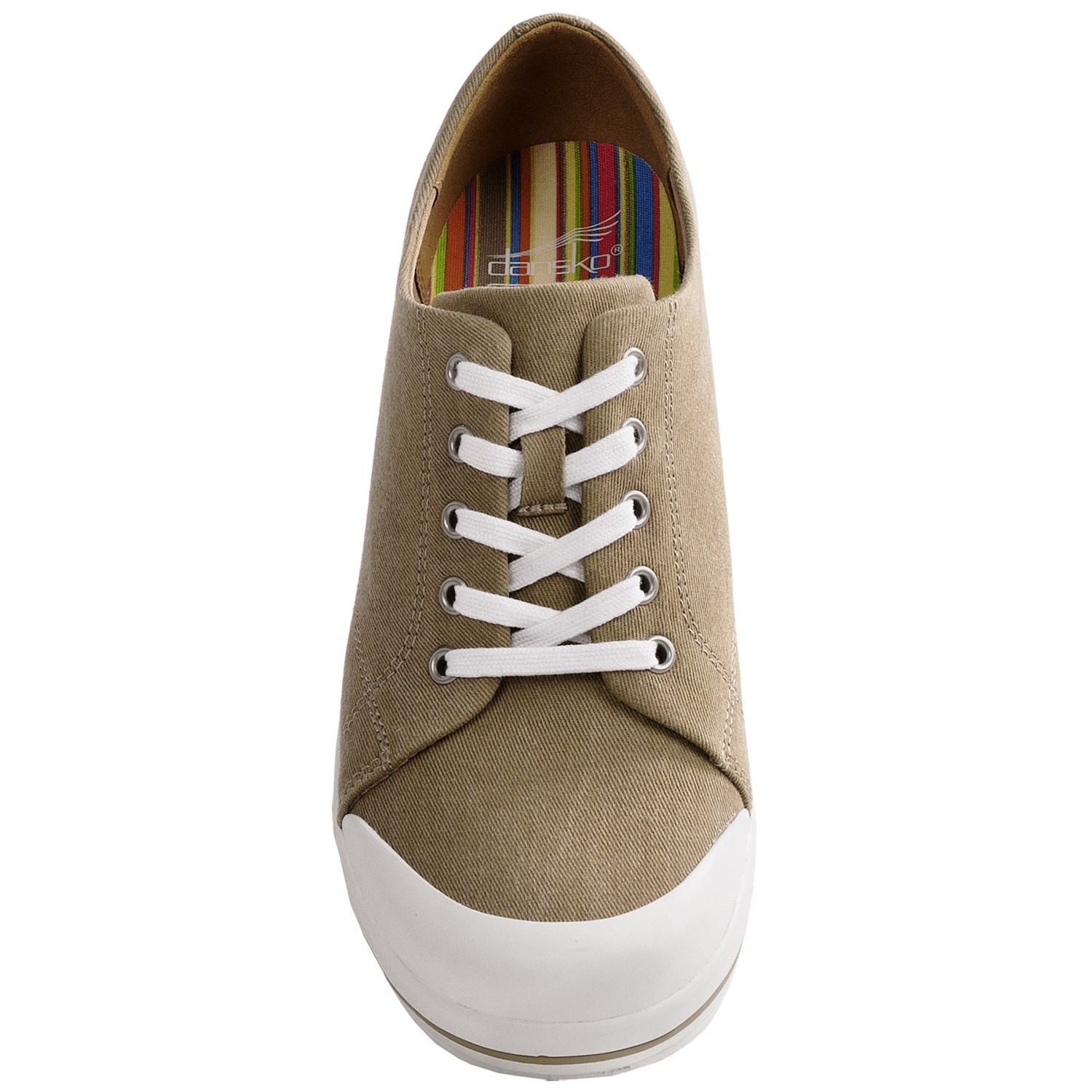 dansko veda canvas lace up shoes for 6379f save 30
