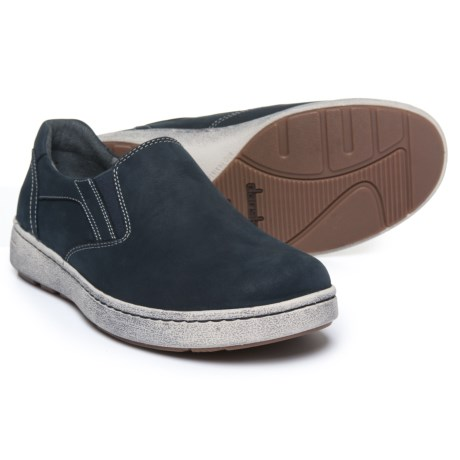 Dansko Viktor Sneakers - Nubuck, Slip-Ons (For Men) in Navy Milled Nubuck