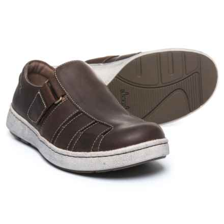 Dansko Vince Fisherman Sandals - Leather (For Men) in Brown Oiled Pull Up - Closeouts