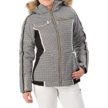 Dare 2b Bountiful Ski Jacket - Waterproof, Insulated (For Women) in Monochrome - Closeouts