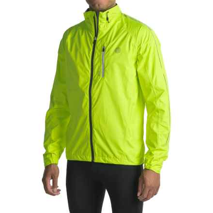 Dare 2b Caliber Cycling Shell Jacket - Waterproof (For Men) in Fluro Yellow - Closeouts