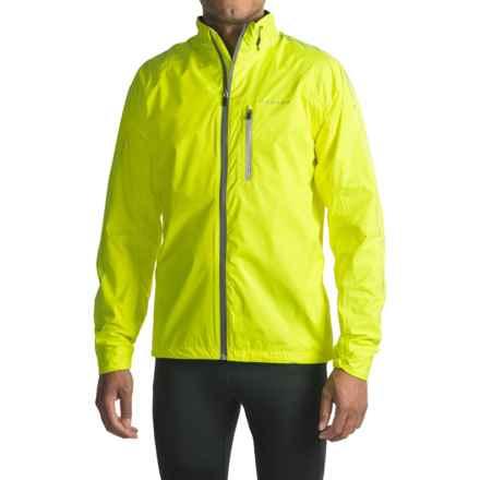 Dare 2b Caliber II Shell Cycling Rain Jacket - Waterproof (For Men) in Fluro Yellow - Closeouts