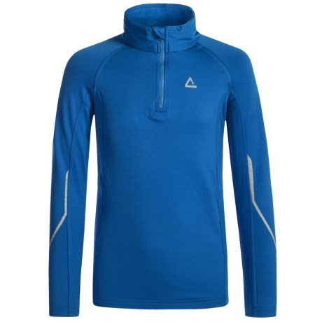 Dare 2b Diverted Core Stretch Fleece Shirt - Long Sleeve (For Little and Big Girls) in Skydiver Blu