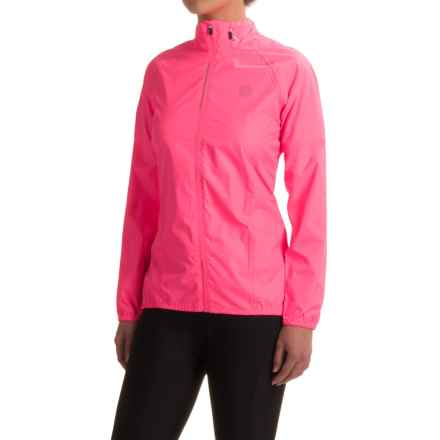 Dare 2b Evident Cycling Jacket - Waterproof (For Women) in Fluro Pink - Closeouts