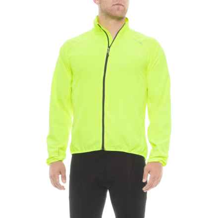 Dare 2b Fired Up Windshell Jacket (For Men) in Fluro Yellow - Closeouts