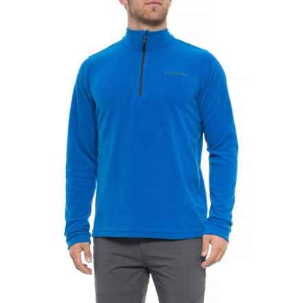 Dare 2b Freeze Dry II Fleece Sweater - Zip Neck (For Men) in Oxford Blue - Closeouts