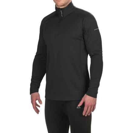 Dare 2b Fuseline 2 Fleece Shirt - Zip Neck, Long Sleeve (For Men) in Black - Closeouts