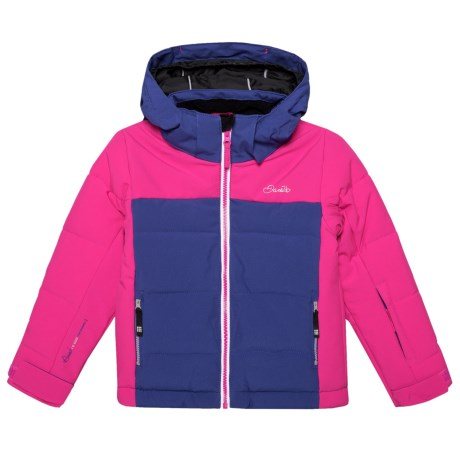 Dare 2b Improv Ski Jacket - Waterproof, Insulated (For Kids) in Clemats/Cyber Pink