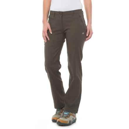 Dare 2b Kiwi Pro Stretch Pants - UPF 40+ (For Women) in Mid Khaki - Closeouts