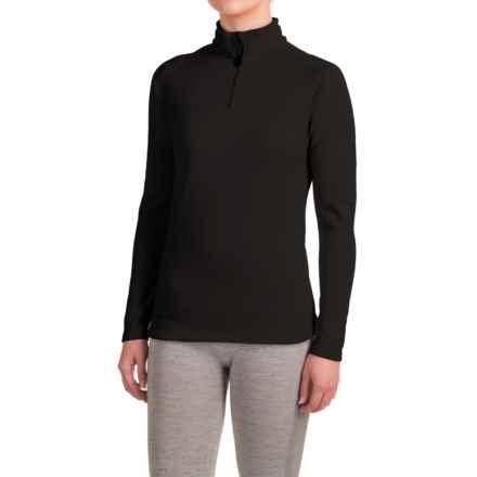 Dare 2b Loveline II Shirt - Zip Neck, Long Sleeve (For Women) in Black - Closeouts