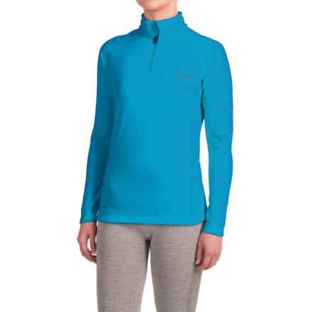 Dare 2b Loveline II Shirt - Zip Neck, Long Sleeve (For Women) in Methyl Blue - Closeouts