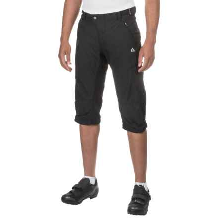 Dare 2b Modify 2-in-1 Cycling Shorts - 3/4 Length, Detachable Liner Shorts (For Men) in Black - Closeouts