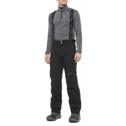 Dare 2b Pace Setter Pro II Full-Zip Ski Pants - Waterproof (For Men) in Black - Closeouts