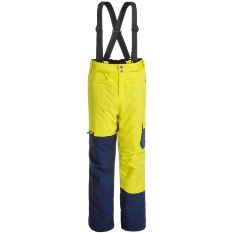 Dare 2b Participate Ski Pants - Waterproof, Insulated (For Little and Big Kids) in Neon Spring/Black