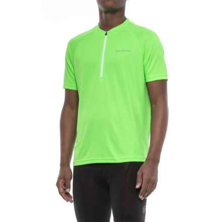 Dare 2b Prelation Cycle Jersey - Zip Neck, Short Sleeve (For Men) in Neon Green - Closeouts