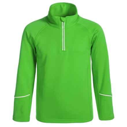 Dare 2b Ricochet Core Stretch Fleece Jacket - Zip Neck (For Little and Big Girls) in Fairwaygreen - Closeouts