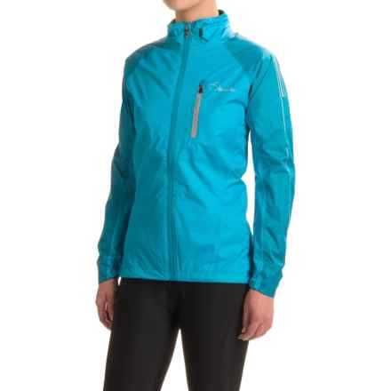 Dare 2b Transpose II Cycling Jacket - Waterproof (For Women) in Blue Jewel - Closeouts