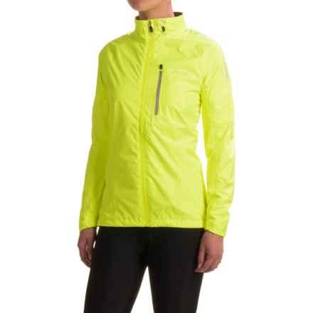 Dare 2b Transpose II Cycling Jacket - Waterproof (For Women) in Fluro Yellow - Closeouts