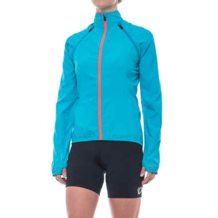 Dare 2b Unveil Convertible Cycling Jacket (For Women) in Fluro Blue - Closeouts
