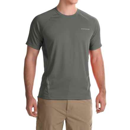 Dare 2B Volition Active T-Shirt - Short Sleeve (For Men) in Ebony Grey - Closeouts