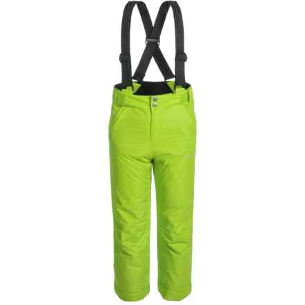 Dare 2b Whirlwind Ski Pants - Waterproof, Insulated (For Little and Big Kids) in Lime Green - Closeouts