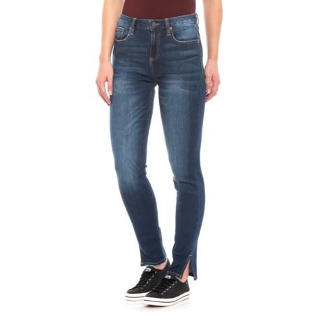 Image of Dark 556 High-Rise Skinny Jeans (For Women)