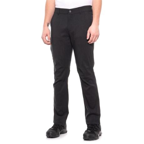Image of Dark Charcoal Melange Champlain Pants - UPF 50 (For Men)
