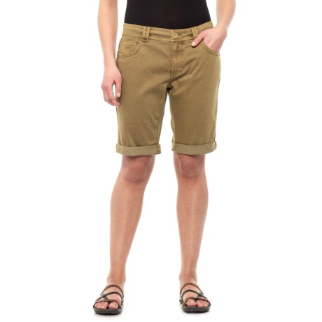 Image of Dark Khaki Channing Shorts - Organic Cotton (For Women)