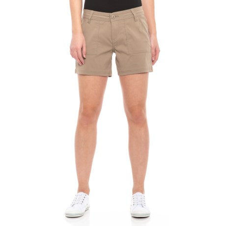 Image of Dark Khaki Olivia Shorts (For Women)
