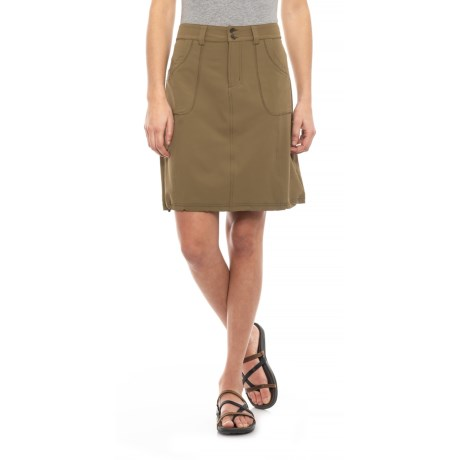 Image of Dark Khaki Shiloh Skirt (For Women)