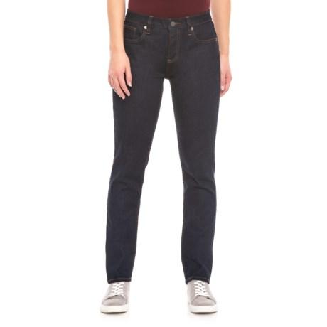 Image of Dark Run Straight-Leg Jeans (For Women)