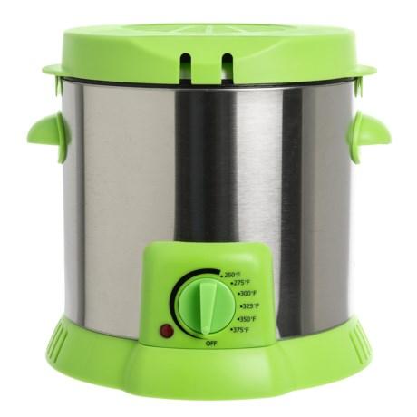 Dash Compact Deep Fryer in Green