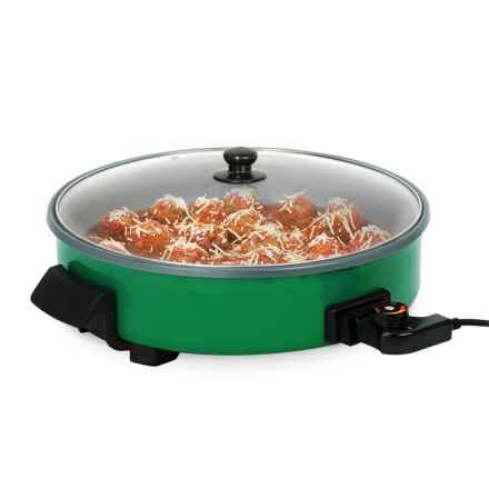 """Dash Rapid Electric Skillet - 14"""" in Green - Closeouts"""