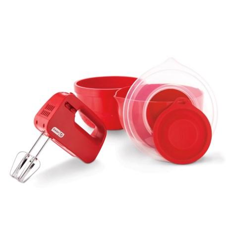 Dash SmartStore Mix-and-Prep Kitchen Set - 5-Piece in Red