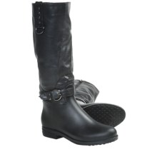 Dav English Dome Solid Rain Boots - Waterproof (For Women) in Black - Closeouts