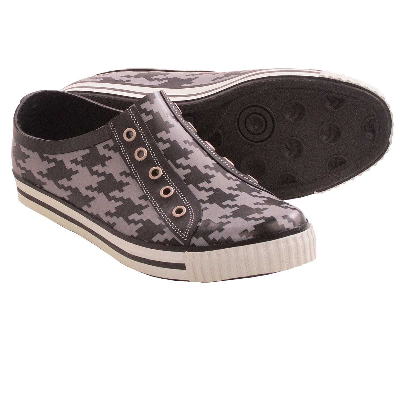 Dav Sneaker Low Rain Shoes (For Women) in Houndstooth Slate