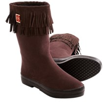 Dav Sydney Mid Rain Boots (For Women) in Chocolate - Closeouts