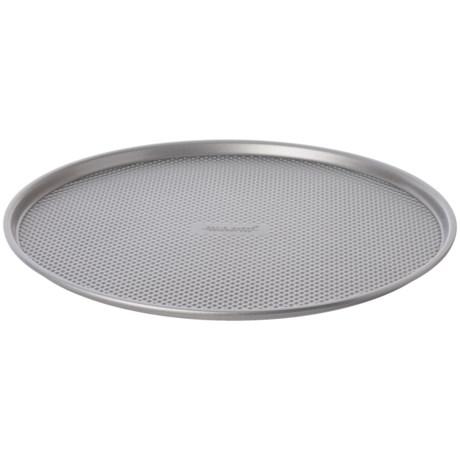 """David Burke Gourmet Gourmet Pizza Pan - 14"""" in Silver"""
