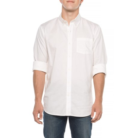 Image of Davidson Stretch Oxford Shirt - Long Sleeve (For Men)