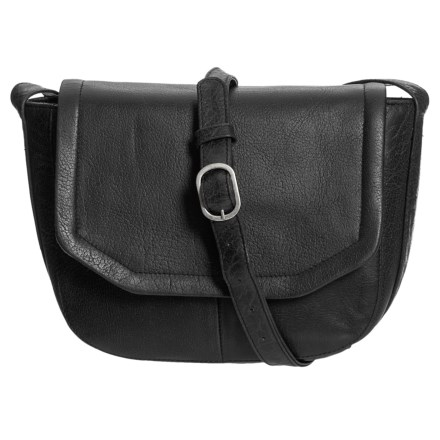 bf919f641fbe Day   Mood Addi Crossbody Bag - Leather (For Women) in Black - Closeouts