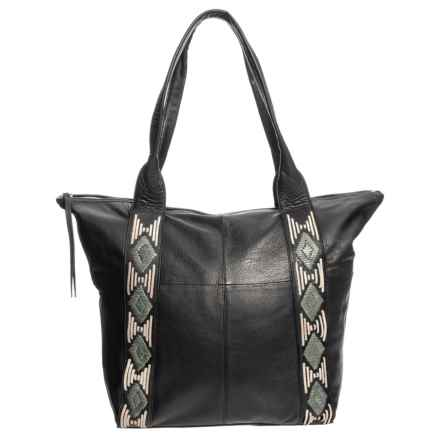 Day & Mood Agnes Tote Bag - Leather (For Women) in Black - Closeouts