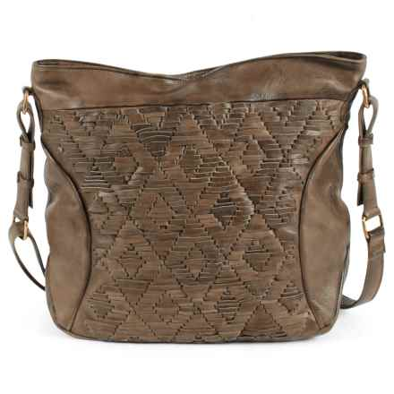Day & Mood Amber Hobo Bag - Leather in Olive - Closeouts