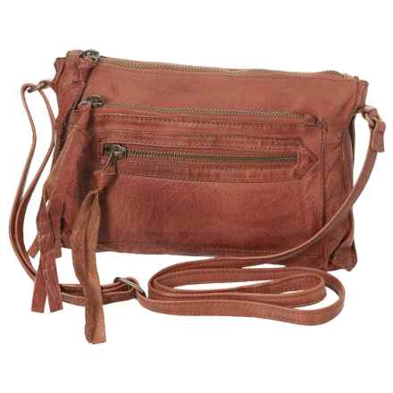 Day & Mood Anni Crossbody Bag - Leather (For Women) in Whiskey - Closeouts