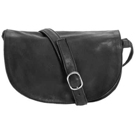 Day & Mood Ash Saddle Bag - Leather (For Women) in Black - Closeouts