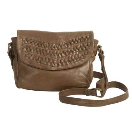 Day & Mood Frieda Crossbody Bag - Leather (For Women) in Olive - Closeouts