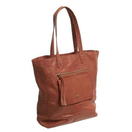 Day & Mood Heather Tote Bag - Leather (For Women) in Cognac - Closeouts
