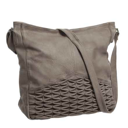 Day & Mood Isa Hobo Bag - Leather (For Women) in Elephant Grey - Closeouts