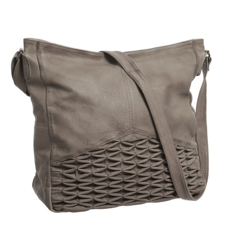 Day & Mood Isa Hobo Bag - Leather (For Women) in Elephant Grey